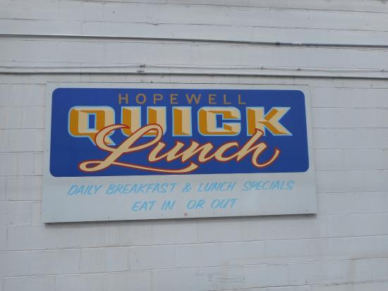 Hopewell Quick Lunch