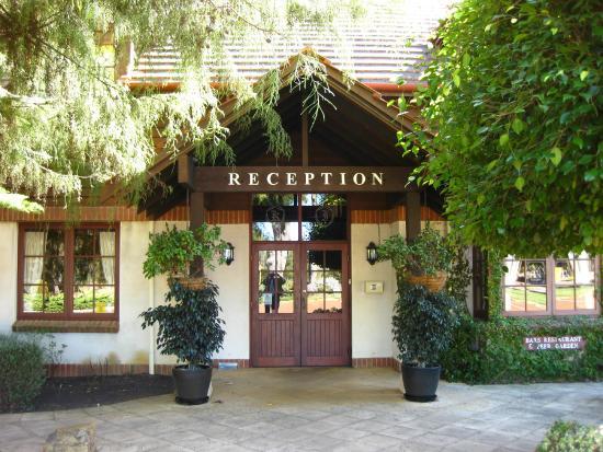 Margaret River Resort: Reception