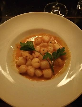 L'Express : Bay scallops (appetizer)