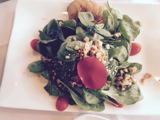 Plate : Pear salad