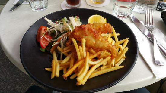 Silo Restaurant and Lounge Bar: Fish & Chips
