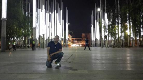 Parque de la Luz: Iluminado