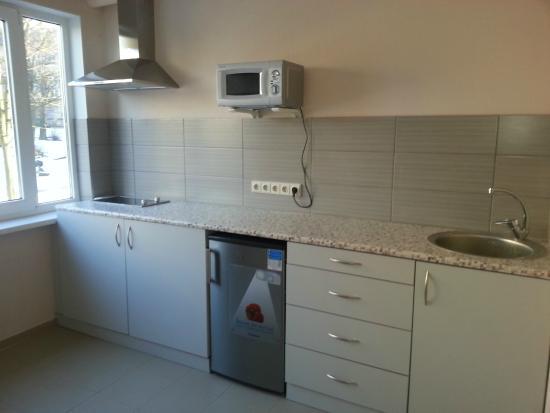 Hotel Jurnieks: Guest kitchen