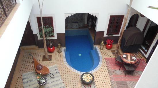 Riad Charme d'Orient: Innenhof