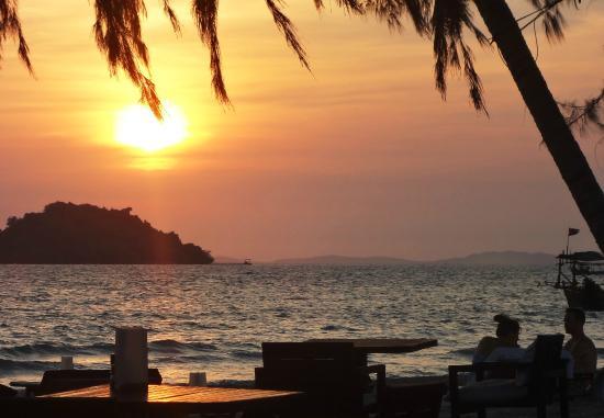 Sihanoukville, Cambodge : Otres 2 sunset