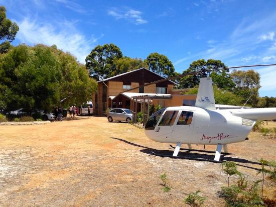 Boranup Forest Retreat: Helicopter Landing