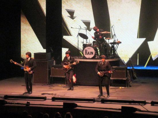 Rain Beatles Tribute Band San Jose Center For The