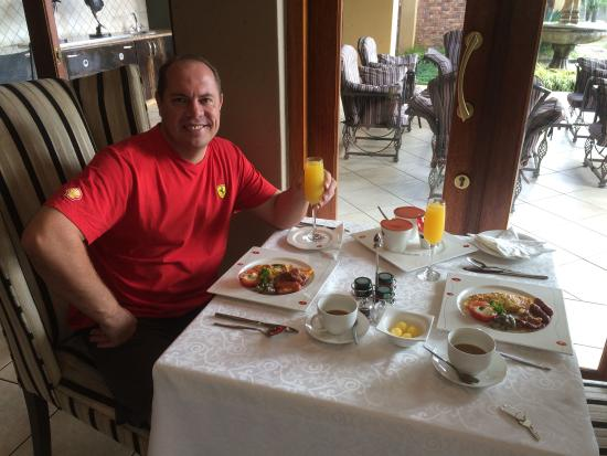 Witwater Guest House and Spa : Brilliant breakfast, great service