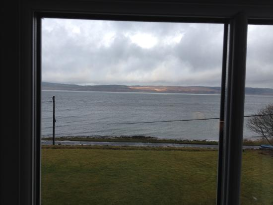 Pirnmill, UK: View Looking Towards Kintyre From our Bedroom