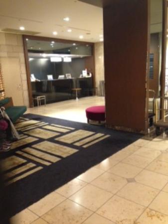 Kawasaki Nikko Hotel: 明るく広々としたエントランス