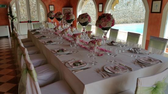 Hotel Roma Imperiale: Tavolo allestito per matrimoni