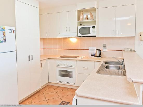 White Crest Luxury Apartments: 2 Bedroom Kitchen