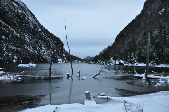 Avalanche Lake in November