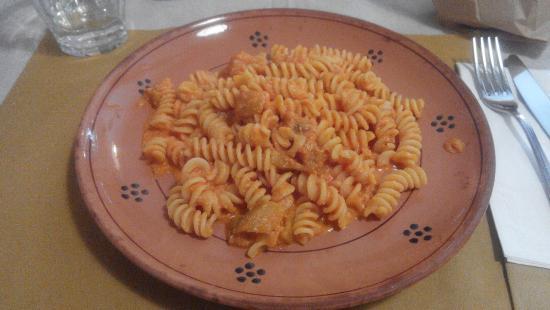 Al Cantinone: Pasta ricotta e melanzane