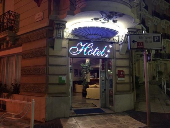 Hotel Olympia : Вход