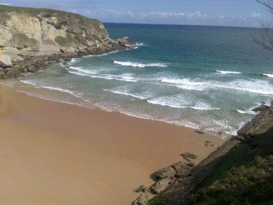 Playa de Mataleñas: Playa Mataleñas