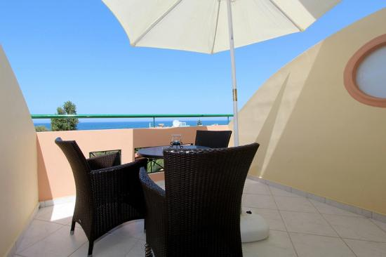 Sevach Apartments: Balcony, Apartment with sea view