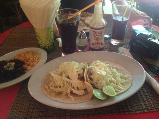 Taqueria Corona Restaurant: Best shrimp tacos in the world.