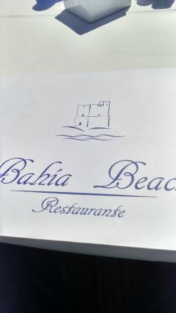 Bahia Beach: Logotipo