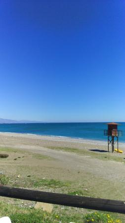 Bahia Beach: Vistas desde la mesa