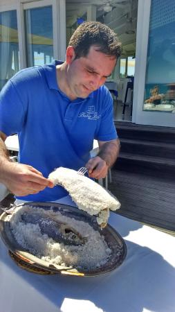 Bahia Beach: Preparando la lubina