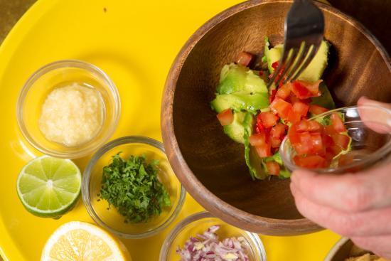 The Basement: Fresh guacamole