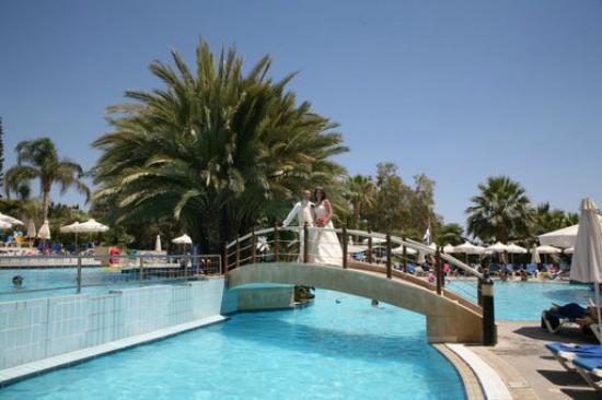 Mediterranean Beach Hotel : Wedding pics taken at hotel
