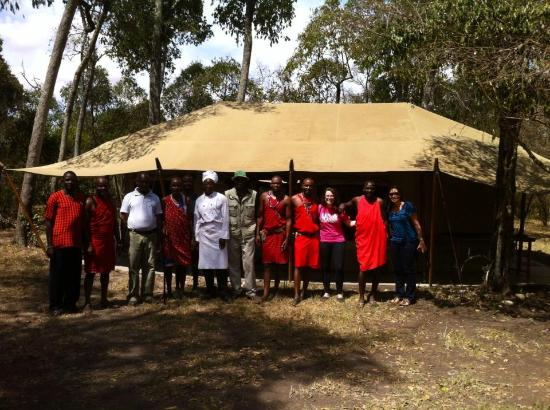Nalepo Mara Camp: Friendly staff