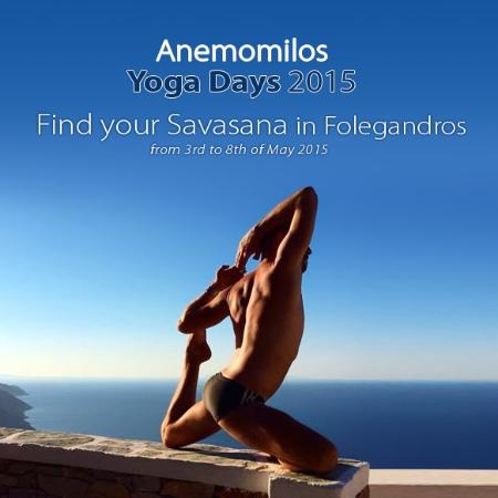 Anemomilos Apartments: Anemomilos Yoga Days 2015