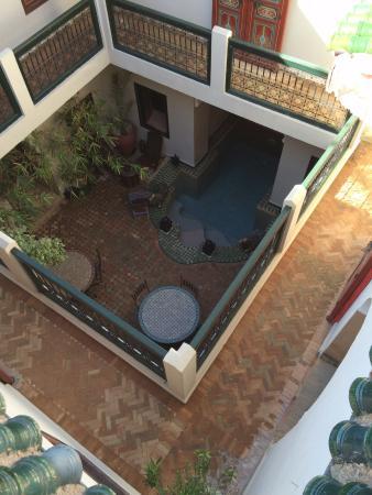 Riad Julia: La cour intérieure