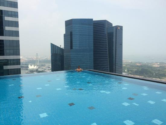 The Dramatic Infinity Pool Looking Over The Ocean And