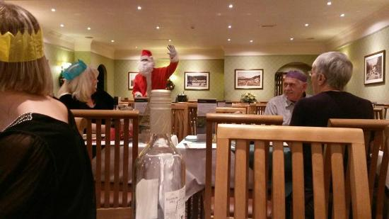 Loch Achray Hotel: Father Christmas pays a visit at dinner