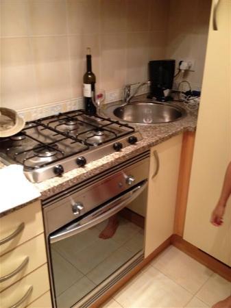 Luz Ocean Club: The kitchen