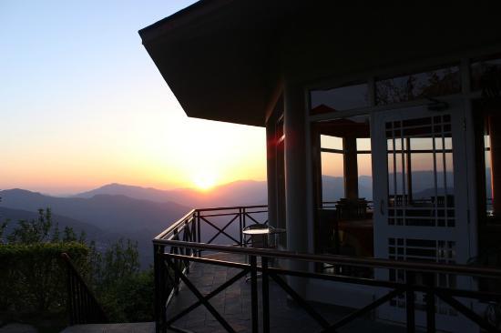 Banjara Camps - Thanedar: Sun Down Views from Restaurant