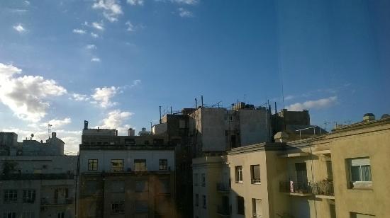Catalonia La Pedrera: VIEW FROM HOTEL ROOM
