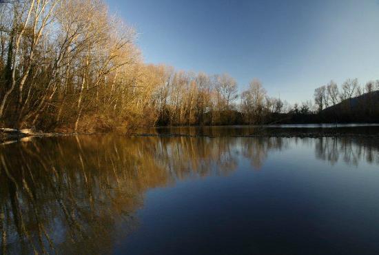 Solfagnano, Italien: Our 1500-acre estate big Lake