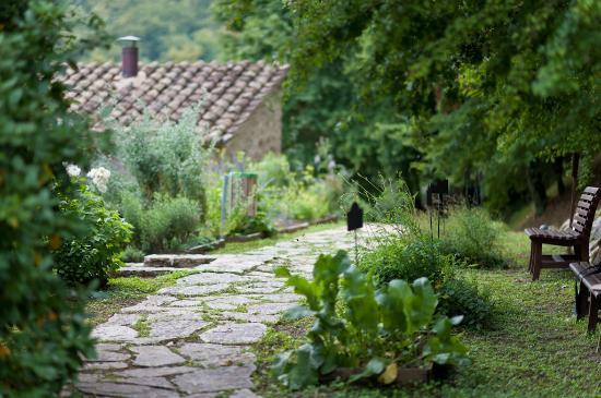 Solfagnano, Italien: Pieve castle Botanical garden