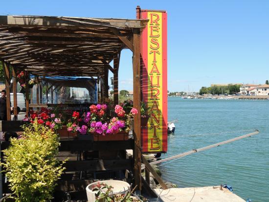 Restaurant El K'lamar: terrase