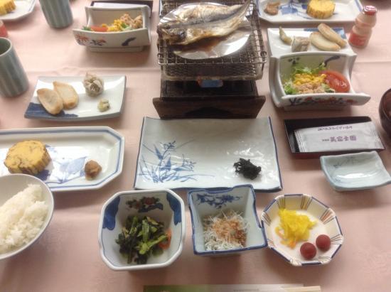 Hotel Mifujien: Breakfast