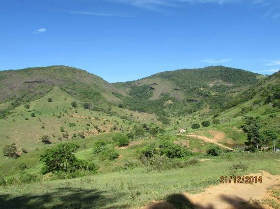 Vereda, BA: Vista de uma fazenda da região