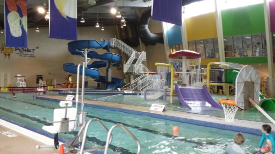 View From Up Top Picture Of Ray 39 S Splash Planet Charlotte Tripadvisor
