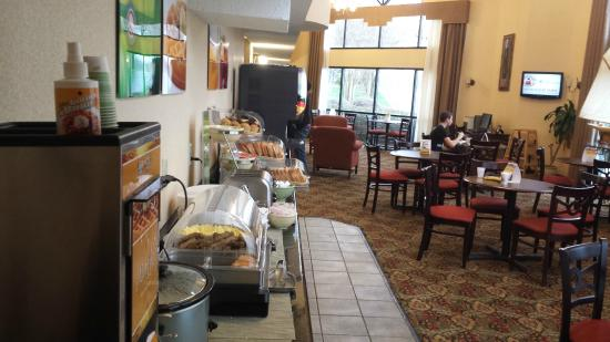 Quality Inn at Carowinds : Dining room