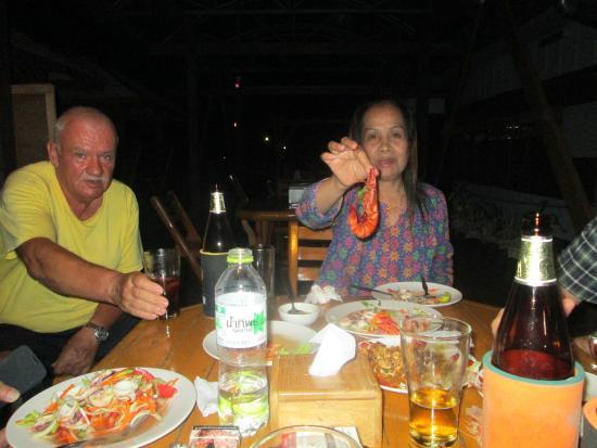 Island View Resort & Spa: So muessen Kungs (Garnelen) aussehen