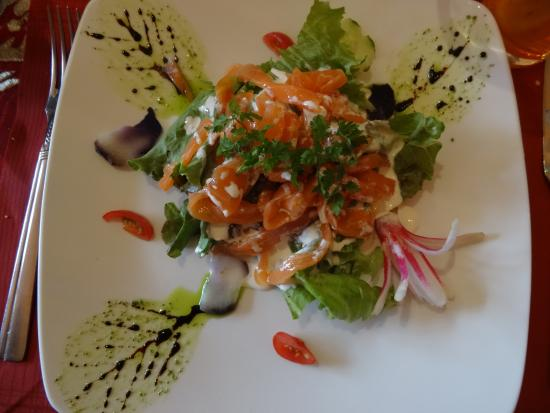 La Ferme Manoir Saint Barthelemy: Table d'hôtes dîner