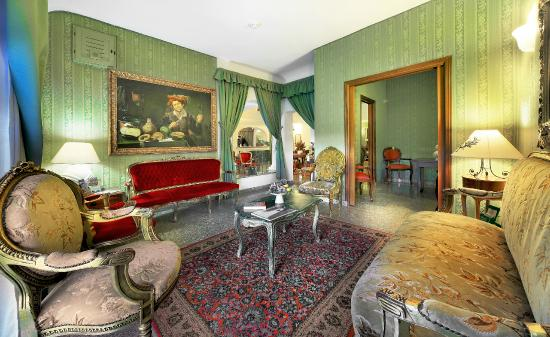 Colonna Palace Hotel Mediterraneo: Hall