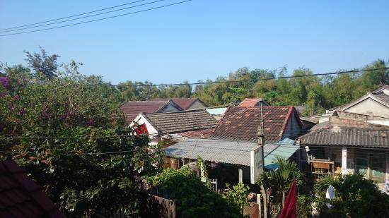 Vesper Homestay: View from the balcony
