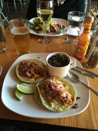 Fiction Kitchen: Tinga Tacos with Chihuahua cheese