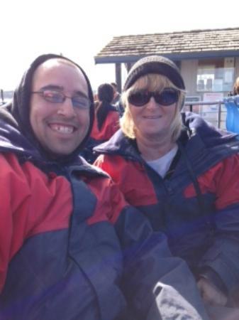 Deception Pass Tours : Matt and Terri on the boat