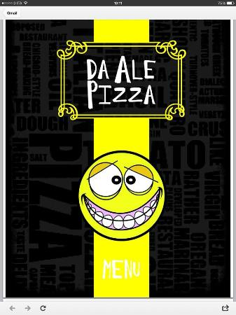 Pizza & Torta da Alepizza : copertina menù