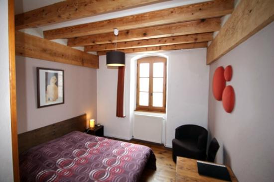 Saint-Symphorien-de-Mahun, Fransa: une chambre double